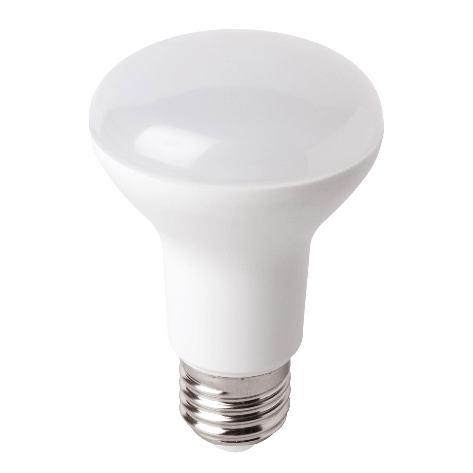 Riflettore LED E27 R63 7,5W, bianco caldo
