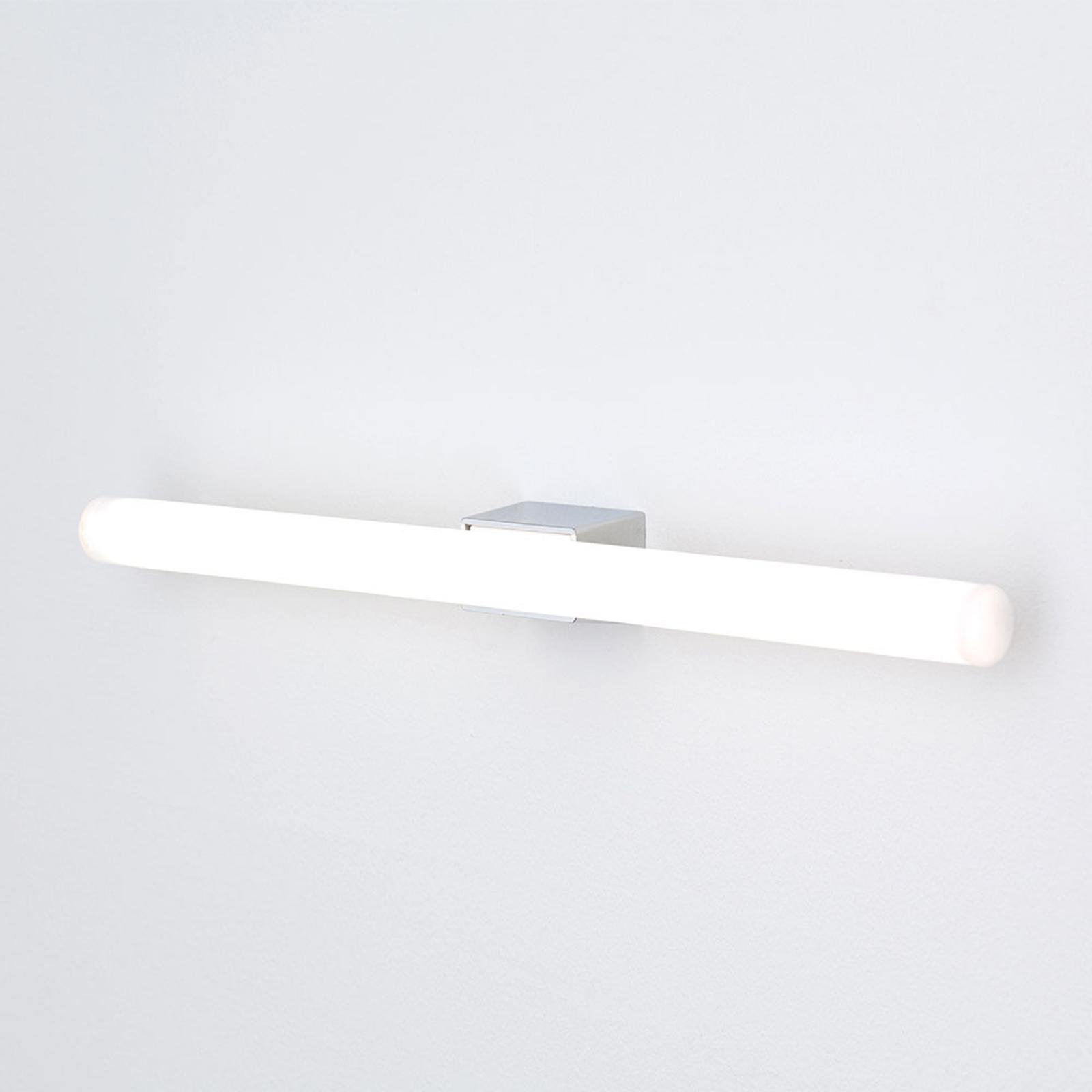 LED-spegellampa Visagist, kromfäste