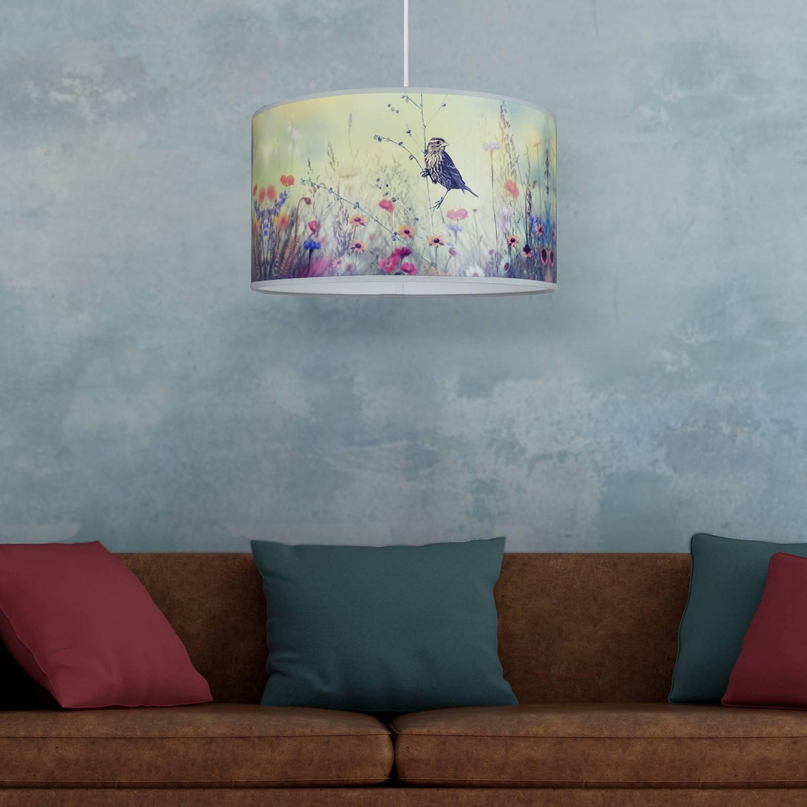 Drukowana lampa wisząca Bird