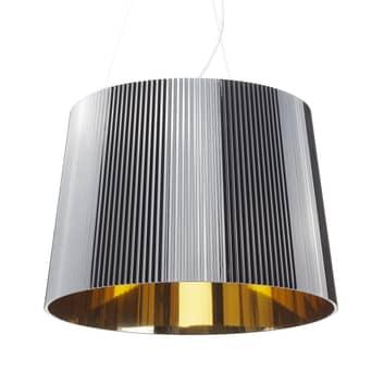 Kartell Gè - LED-hængelampe, sort og guld