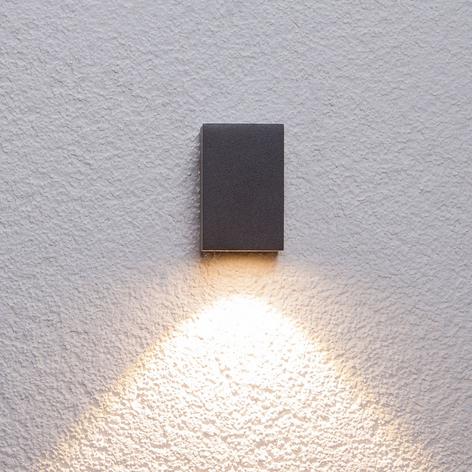 Applique d'extérieur LED Tavi graphite haut 9,5 cm