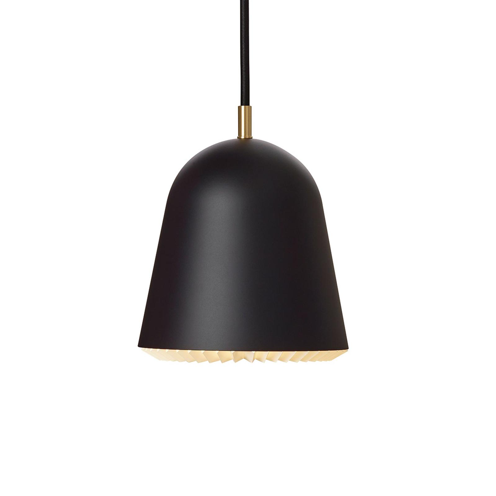 LE KLINT Caché - závěsné světlo, černé, 16 cm