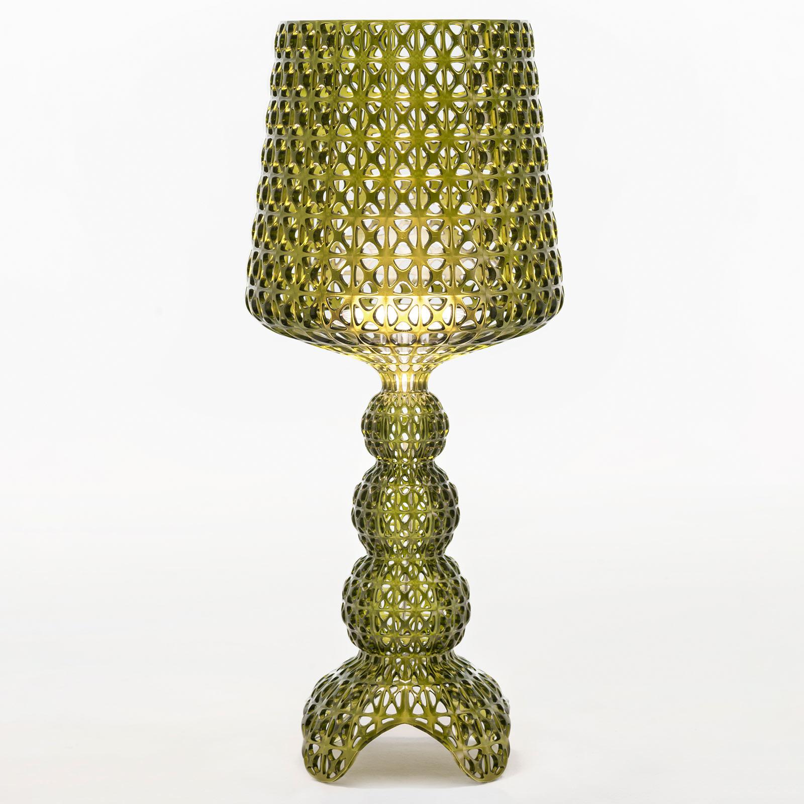 Kartell Mini Kabuki - lampe à poser LED, vert