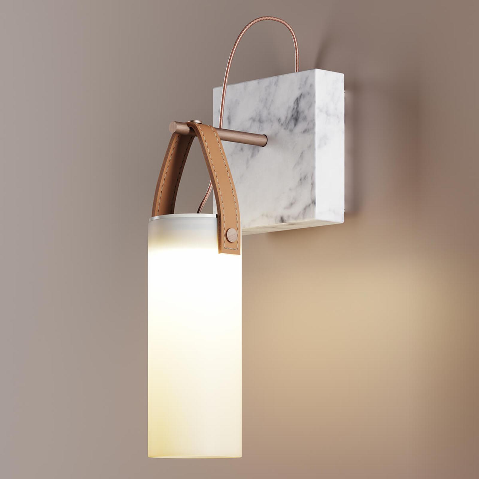 Designerska lampa ścienna LED Galerie