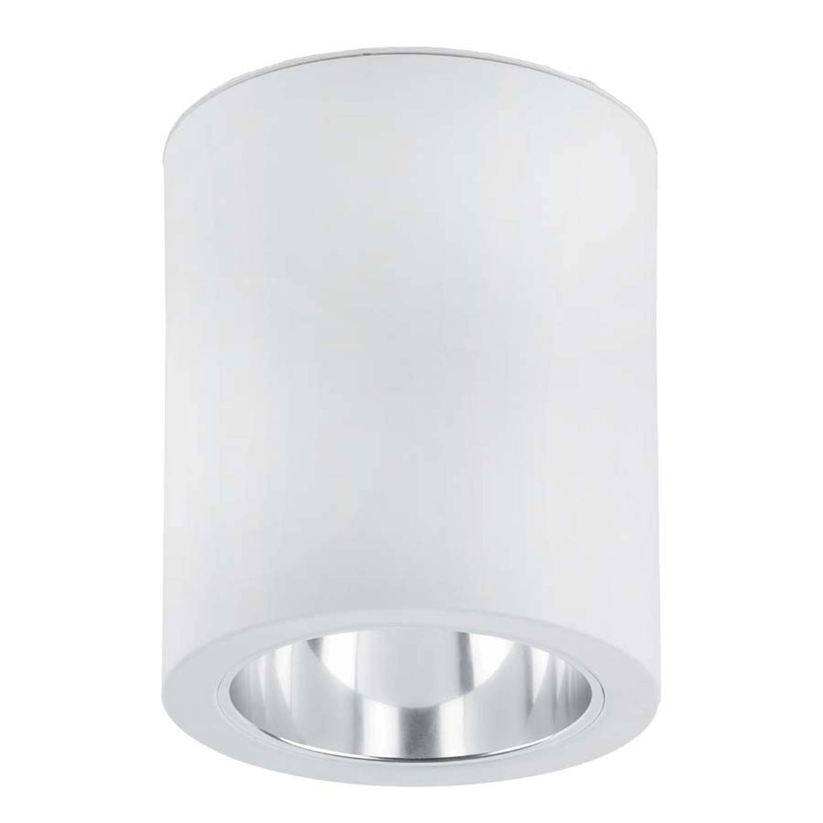 Estetyczna lampa sufitowa Pote-1 z aluminium biała
