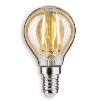 E14 2,5W 825 LED-pisaralamppu kulta