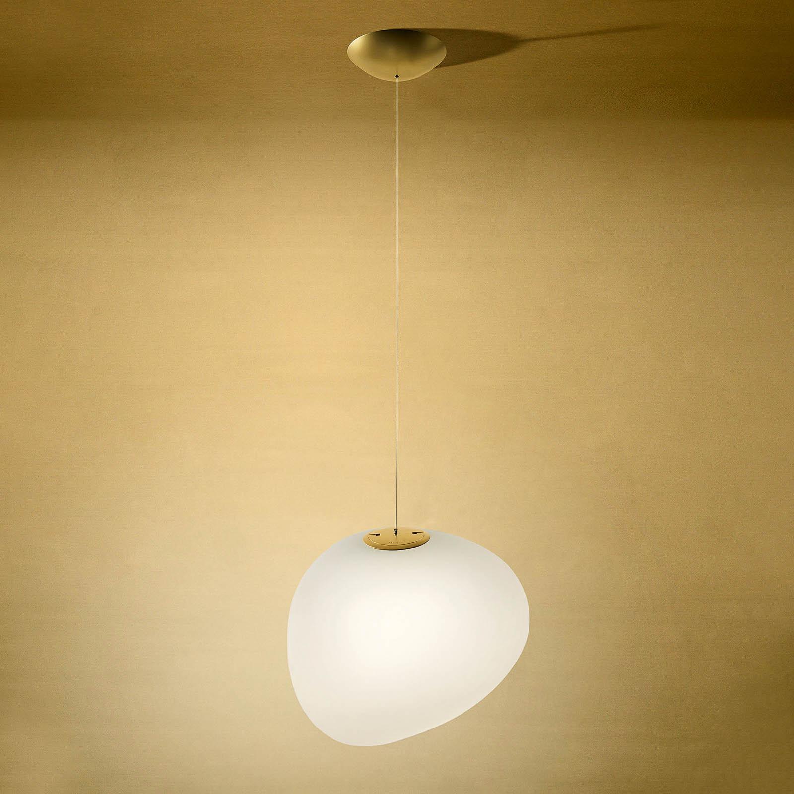 Foscarini Gregg piccola hængelampe, gylden