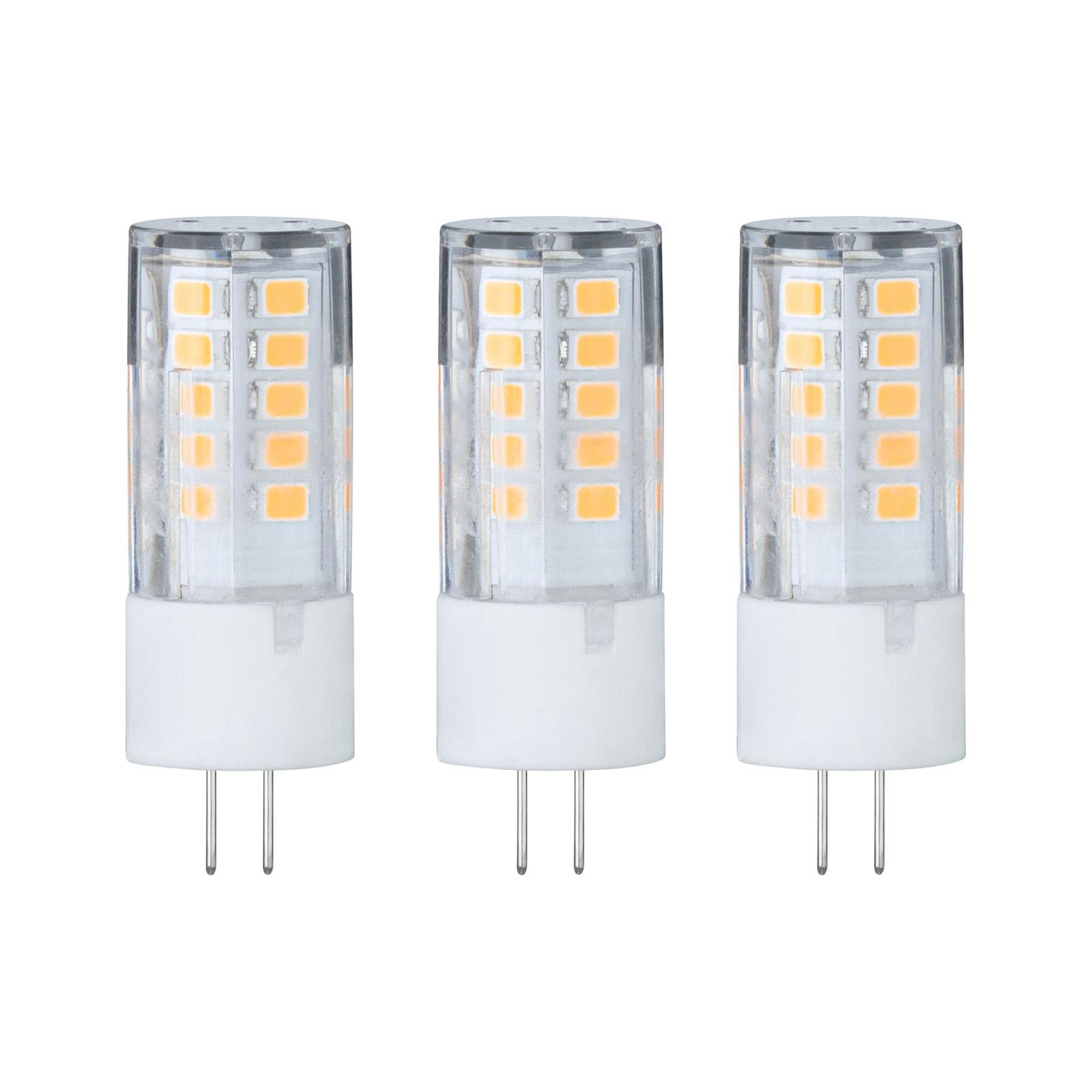 Paulmann LED-stiftpære G4 3W 2700K 3er