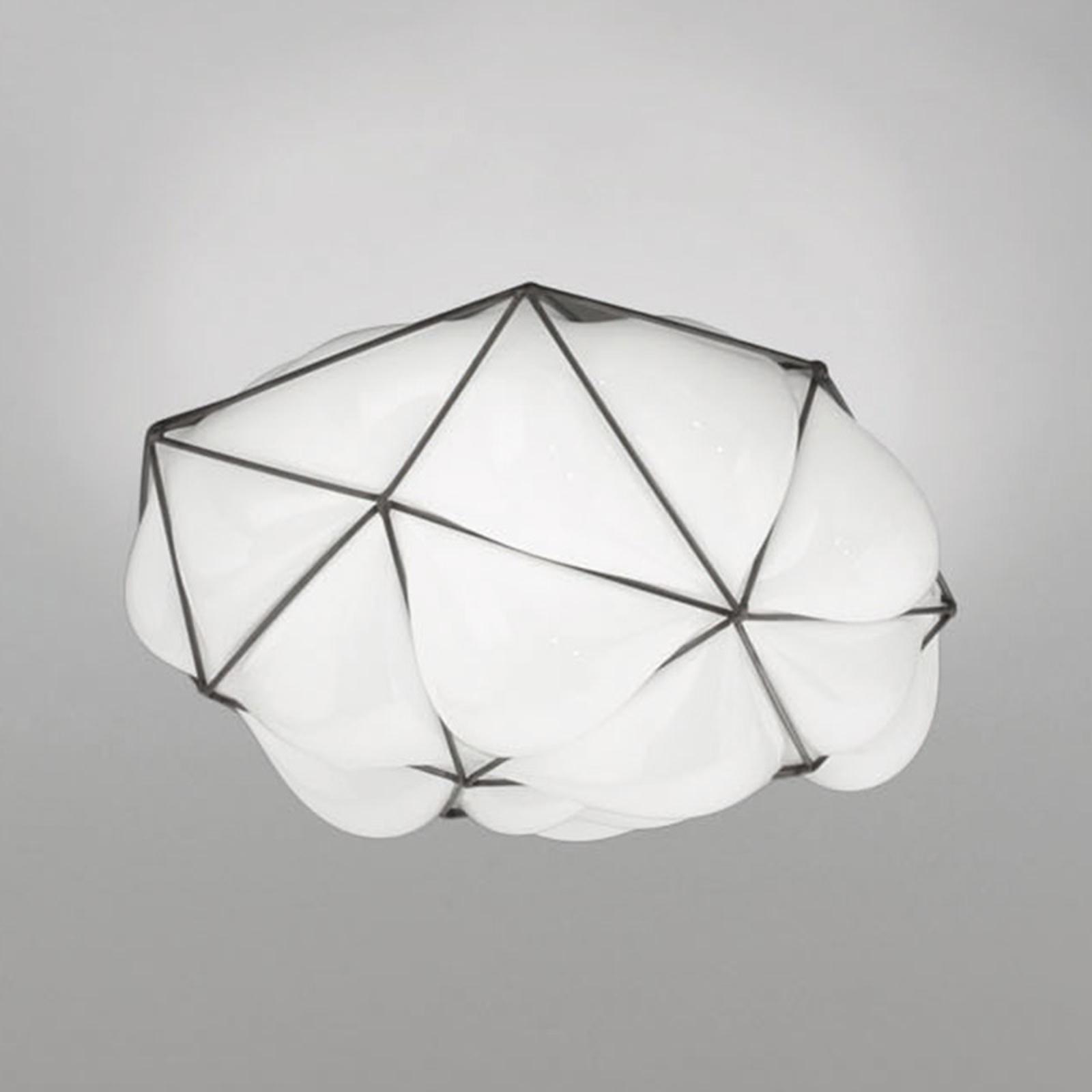 Lampa sufitowa Semai PP G E27 Ø 45 cm