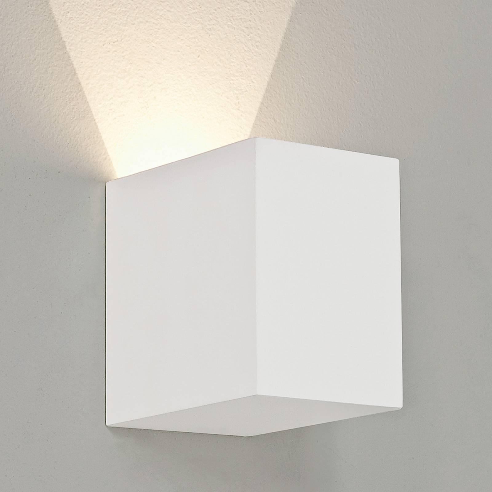 Astro Parma 100 applique LED di gesso, 2.700 K