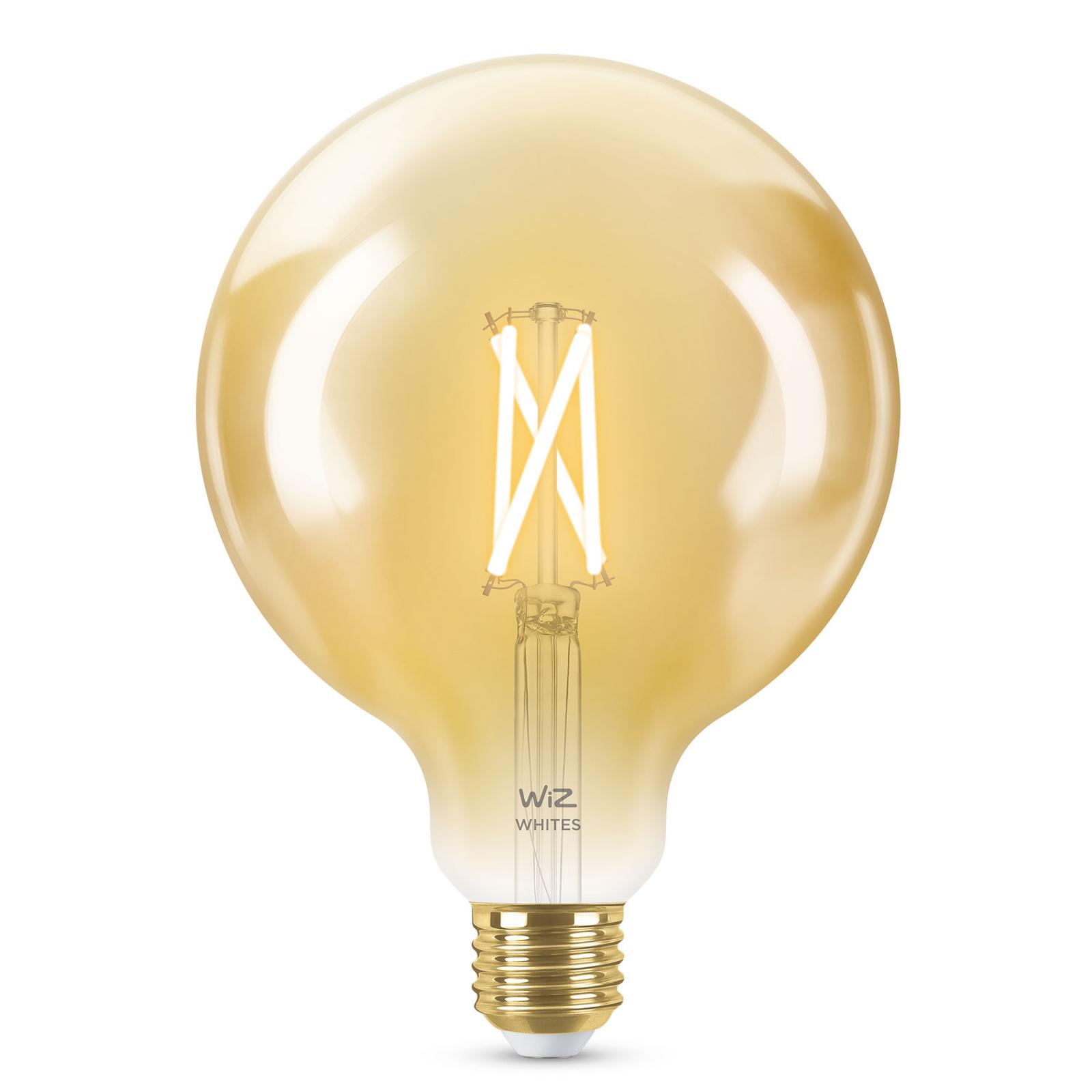 WiZ E27 LED G95 filamenti ambra 6,5W 2.000-4.500K