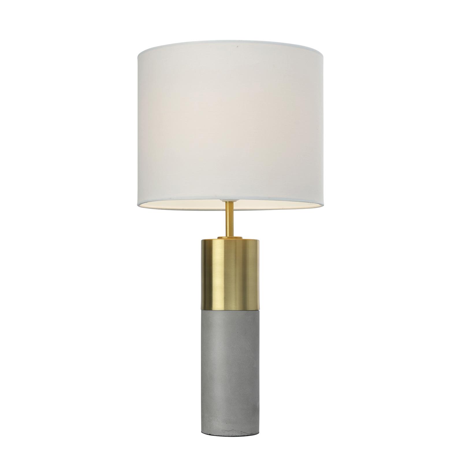 Villeroy & Boch Turin tafellamp, betonlook 25 cm