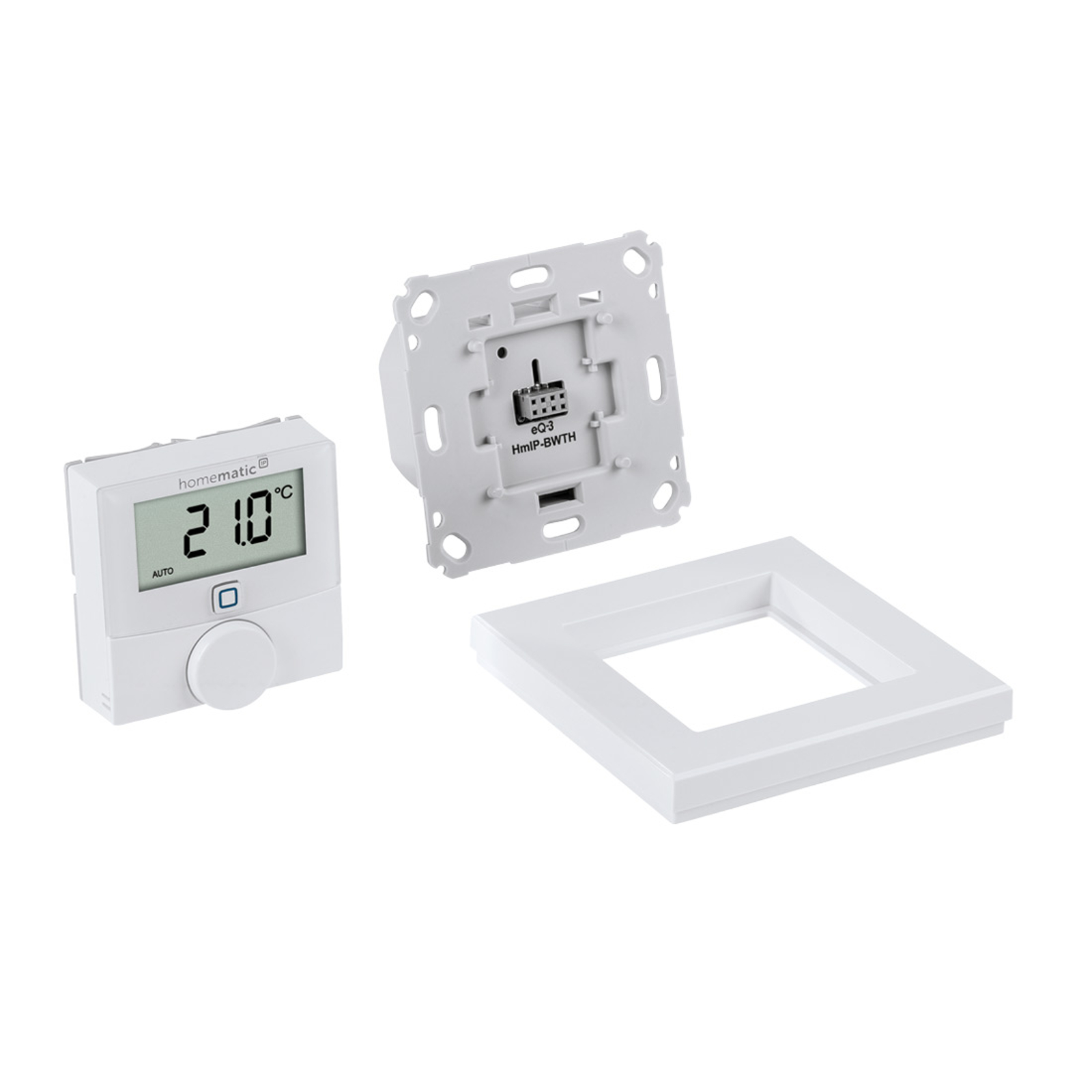 Homematic IP-veggtermostat, svitsjutgang, 230 V