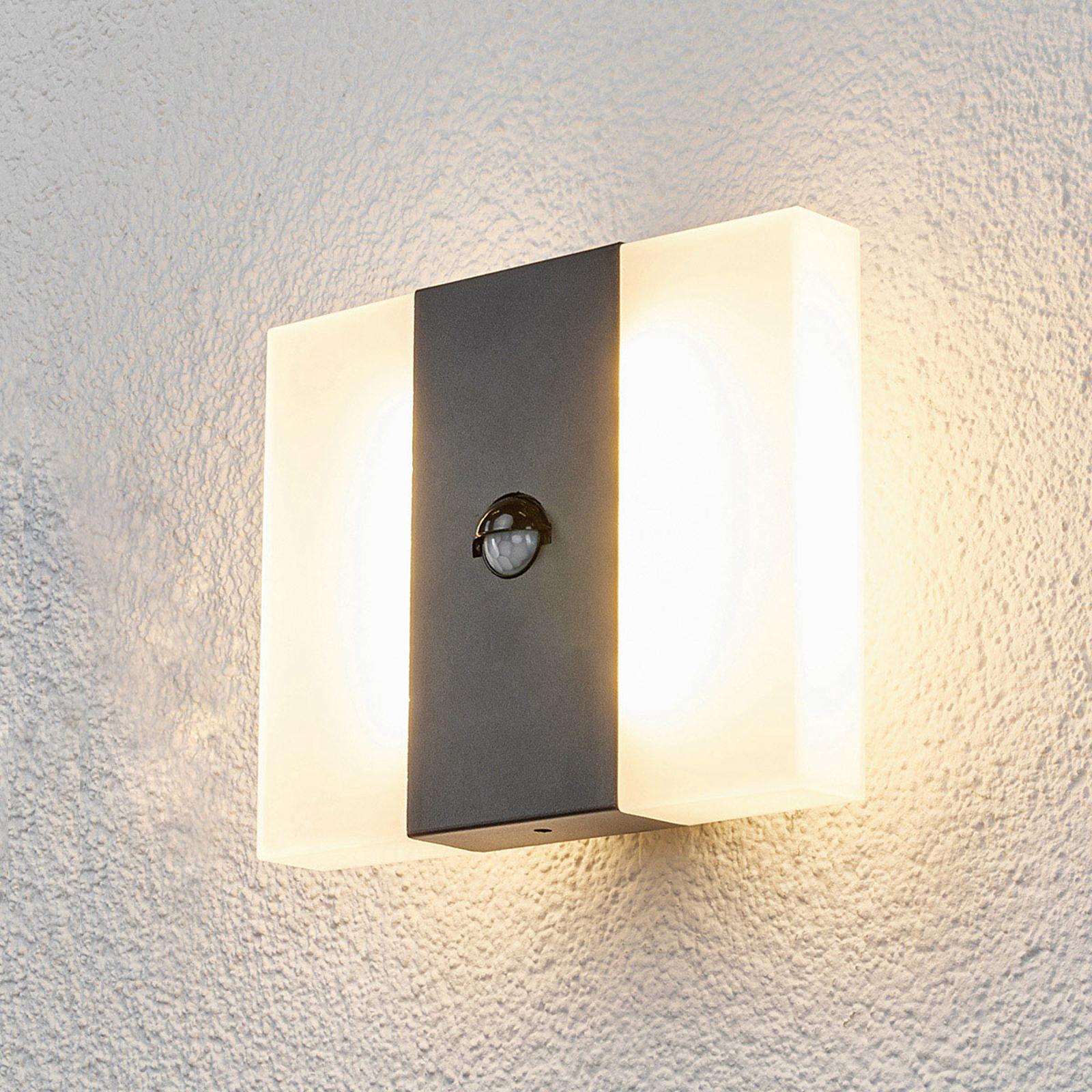 Kumi - LED-vegglampe for utendørsbruk