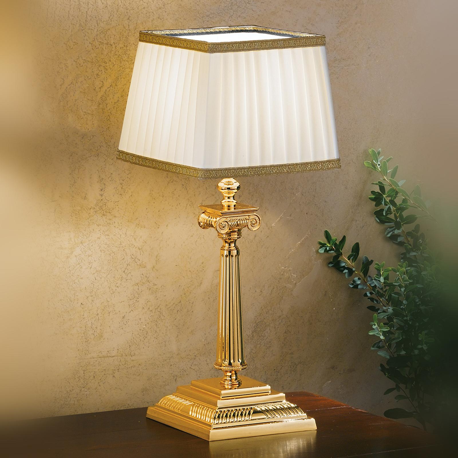 Lampe à poser Sarafine, 41 cm de haut