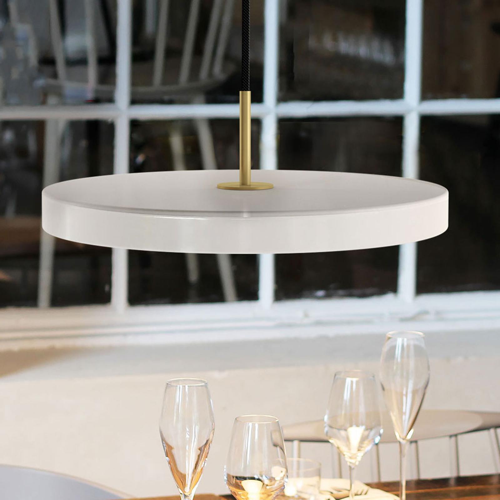 UMAGE Asteria medium lámpara colgante latón nácar