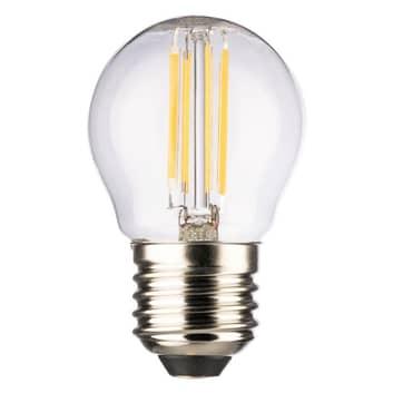 Mini Globe LED E27 4 W blanco cálido, 470 lúmenes