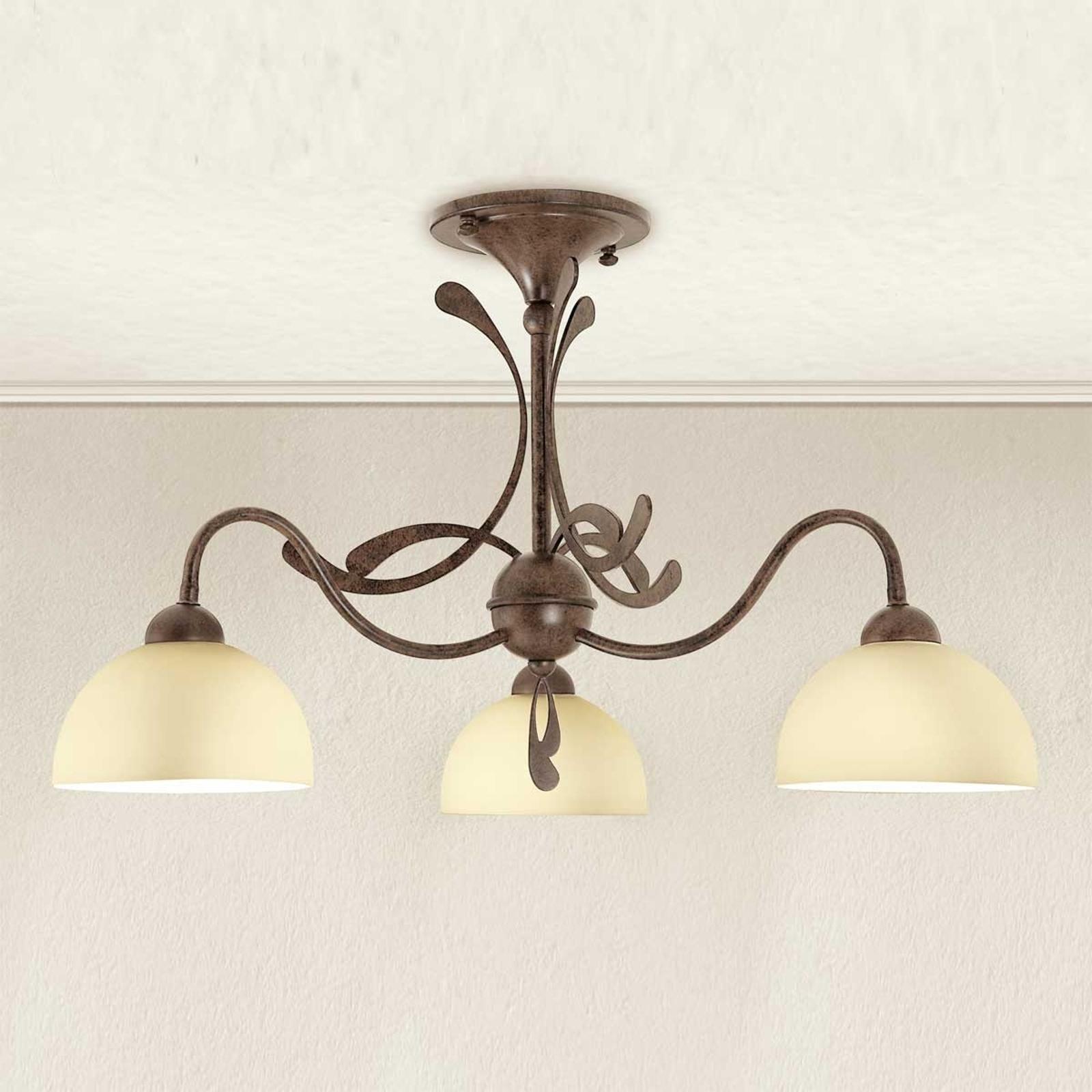 Wielopunktowa lampa sufitowa Lorenzo