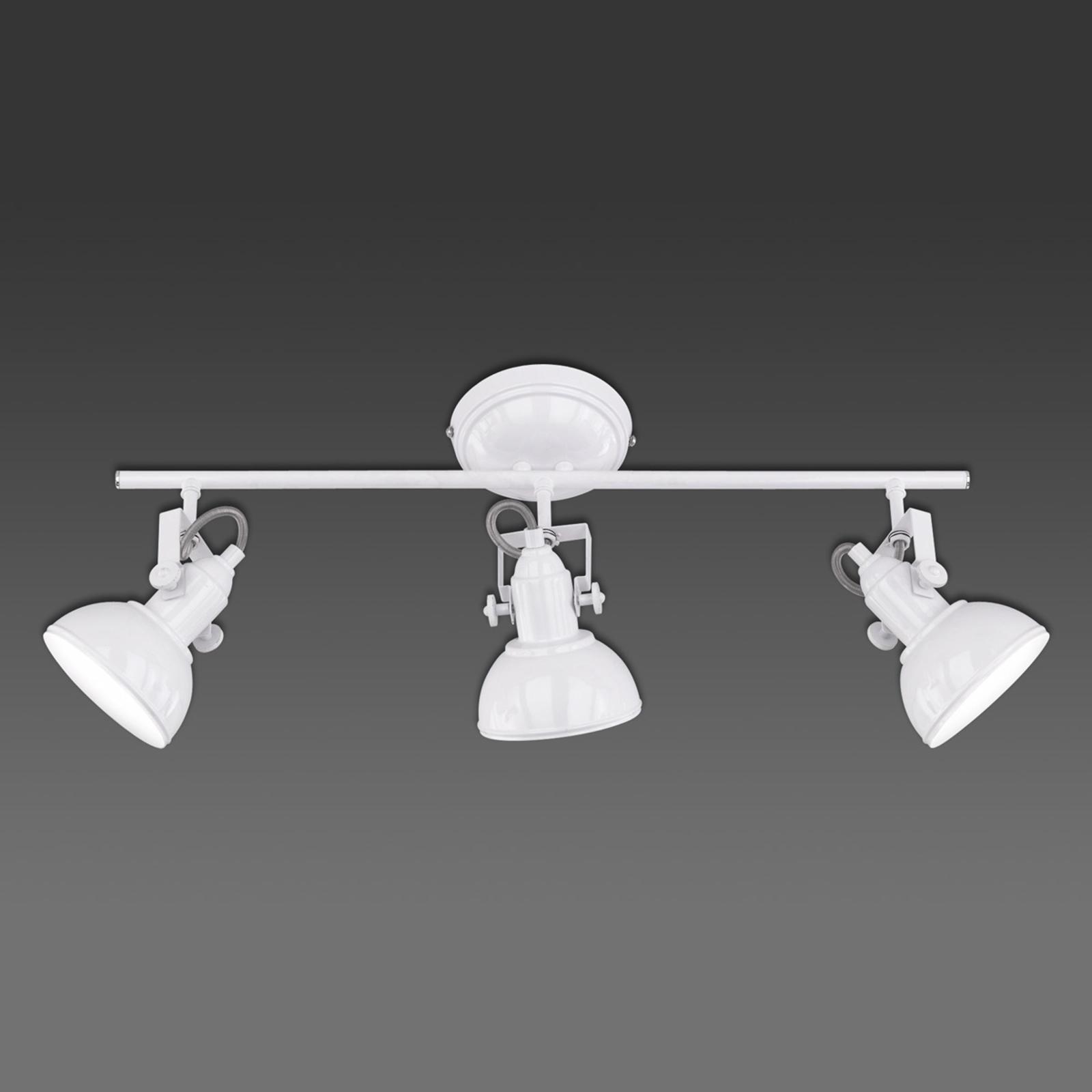 3-pkt. lampa sufitowa GINA w stylu industrialnym
