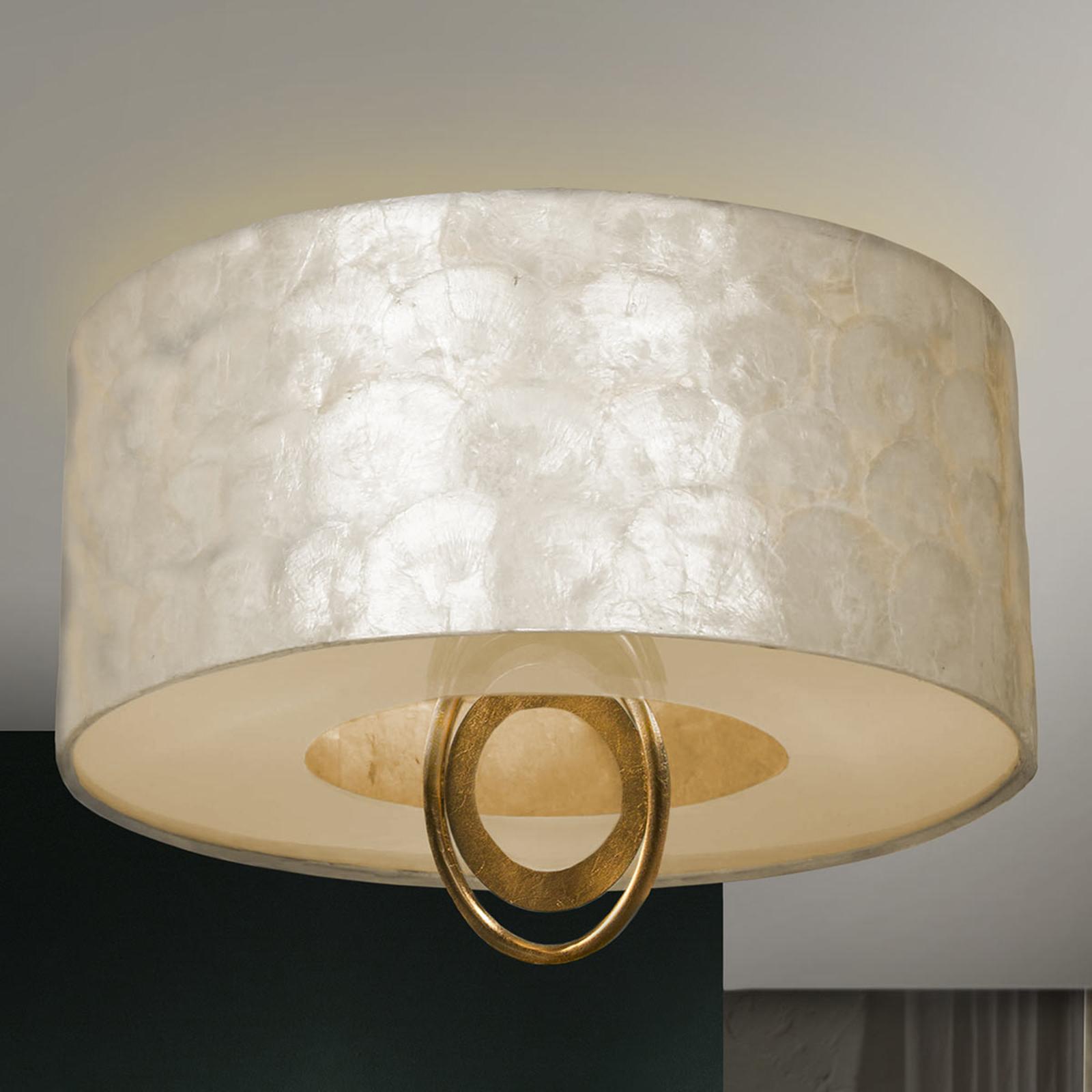 Szlachetna, błyszcząca lampa sufitowa LED Edén
