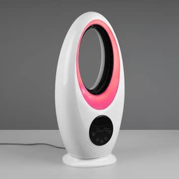 Ventilador de mesa Kalmar RGB LED, touch/remoto
