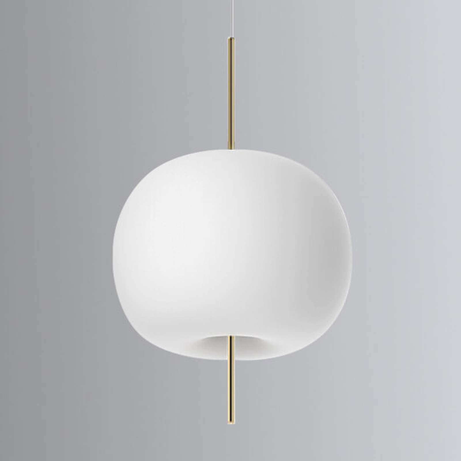 Kundalini Kushi - LED-riippuvalo messinki 33cm