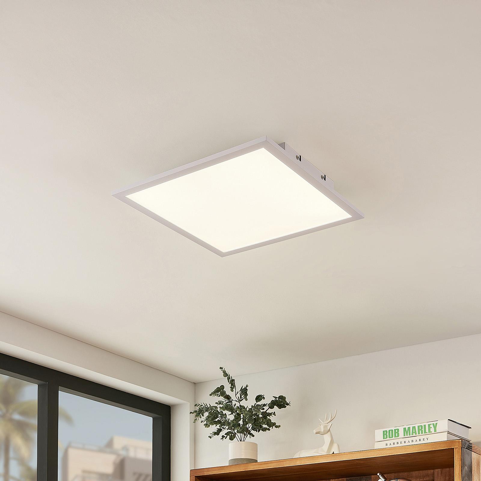 Lindby Luay LED-Panel, 3000-6000K, 40 x 40 cm