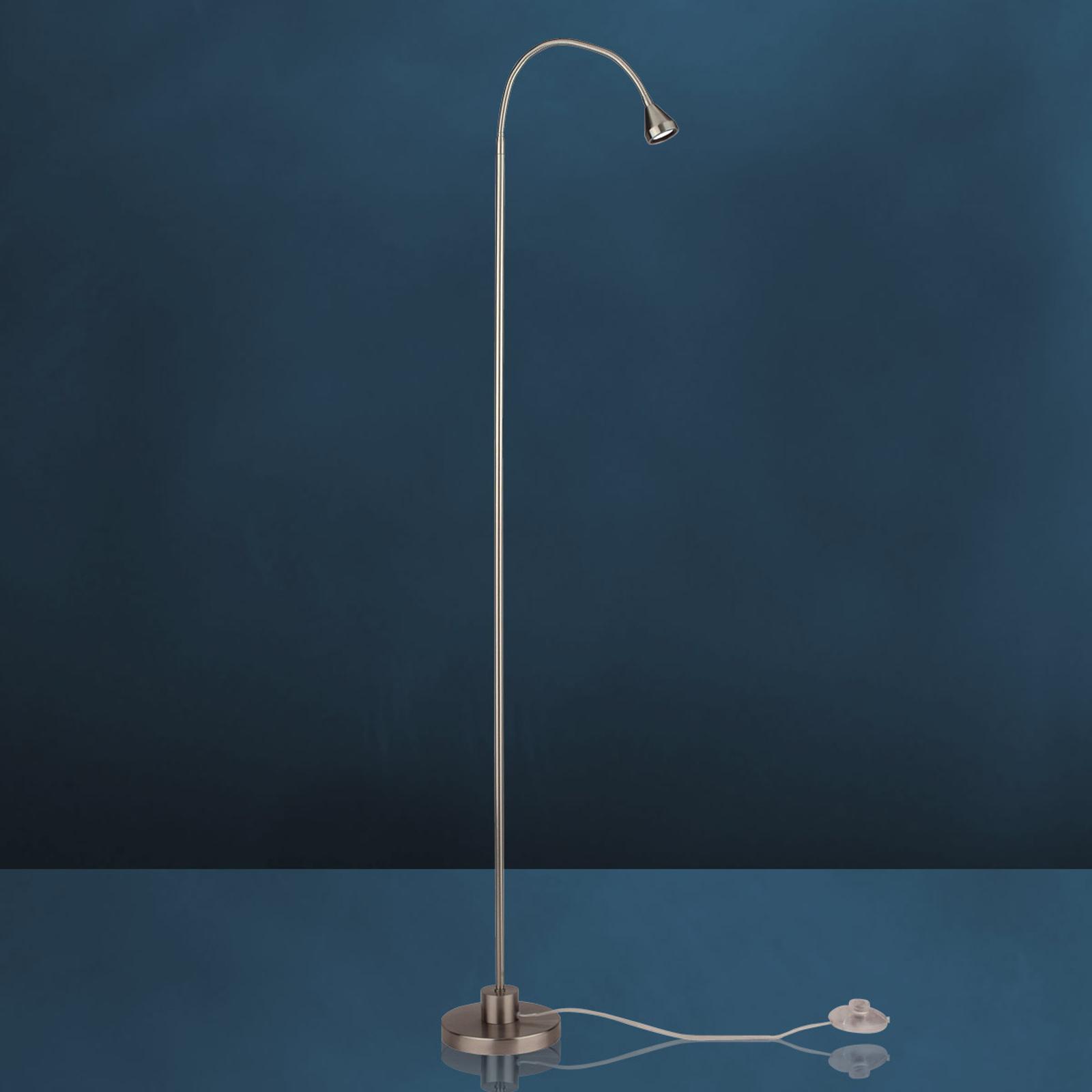 Moderne MINI LED-standerlampe, universalhvid