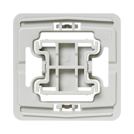 Homematic IP Adapter für Jung Schalter J1 20x