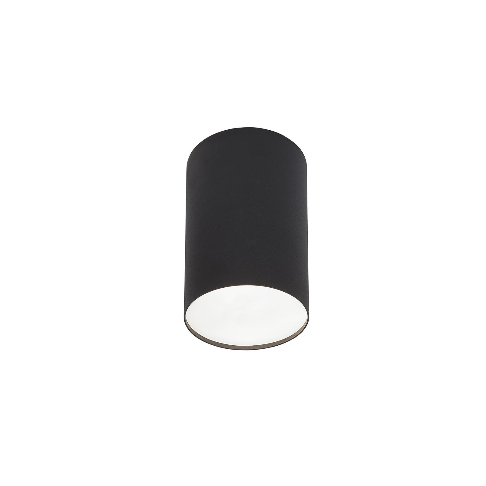Deckenstrahler Point Plexi L schwarz/weiß