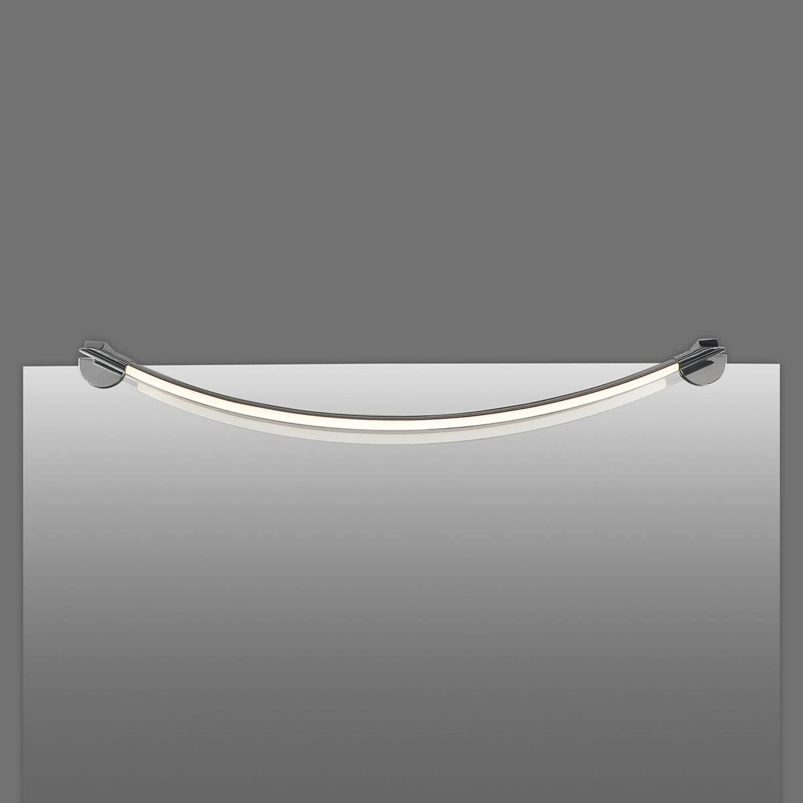 Bilde av Buet Led-speillampe Flow, 68,5 Cm