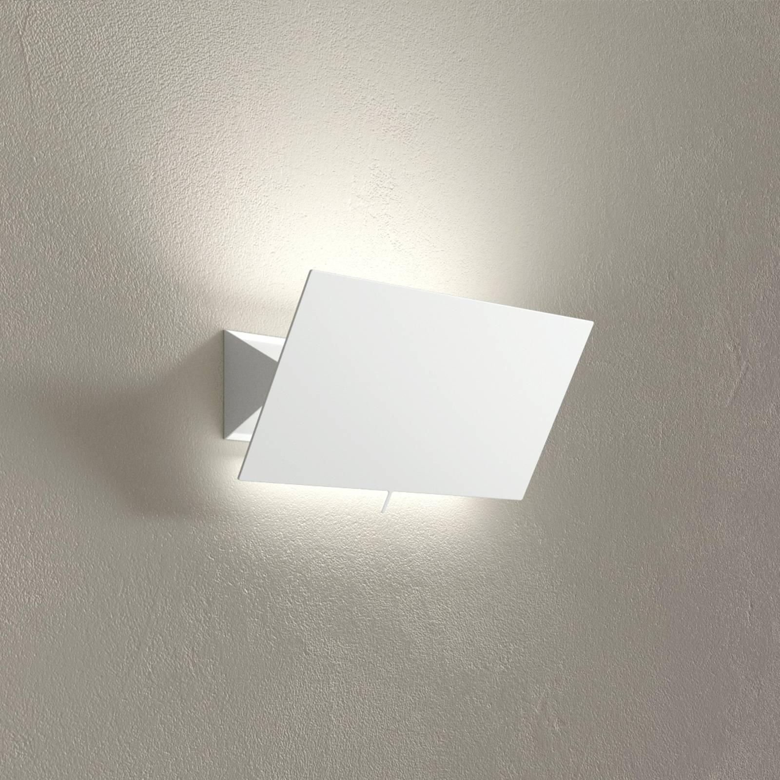 Applique LED Shadow Piccola, blanc, largeur 33cm
