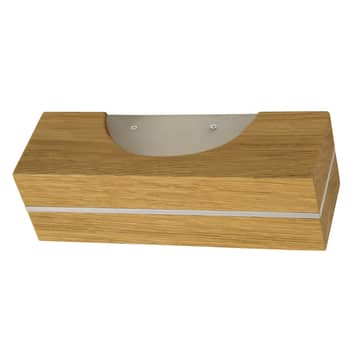 HerzBlut Dana LED wandlamp van geolied hout