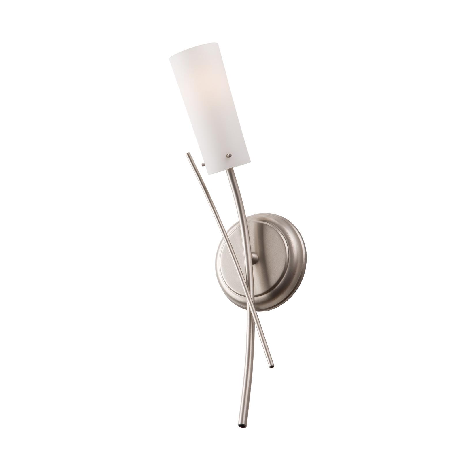 Vegglampe Grinda, 1 lyskilde, krom matt