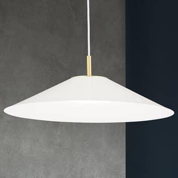 LED-Pendelleuchte Gourmet, Schirm weiß