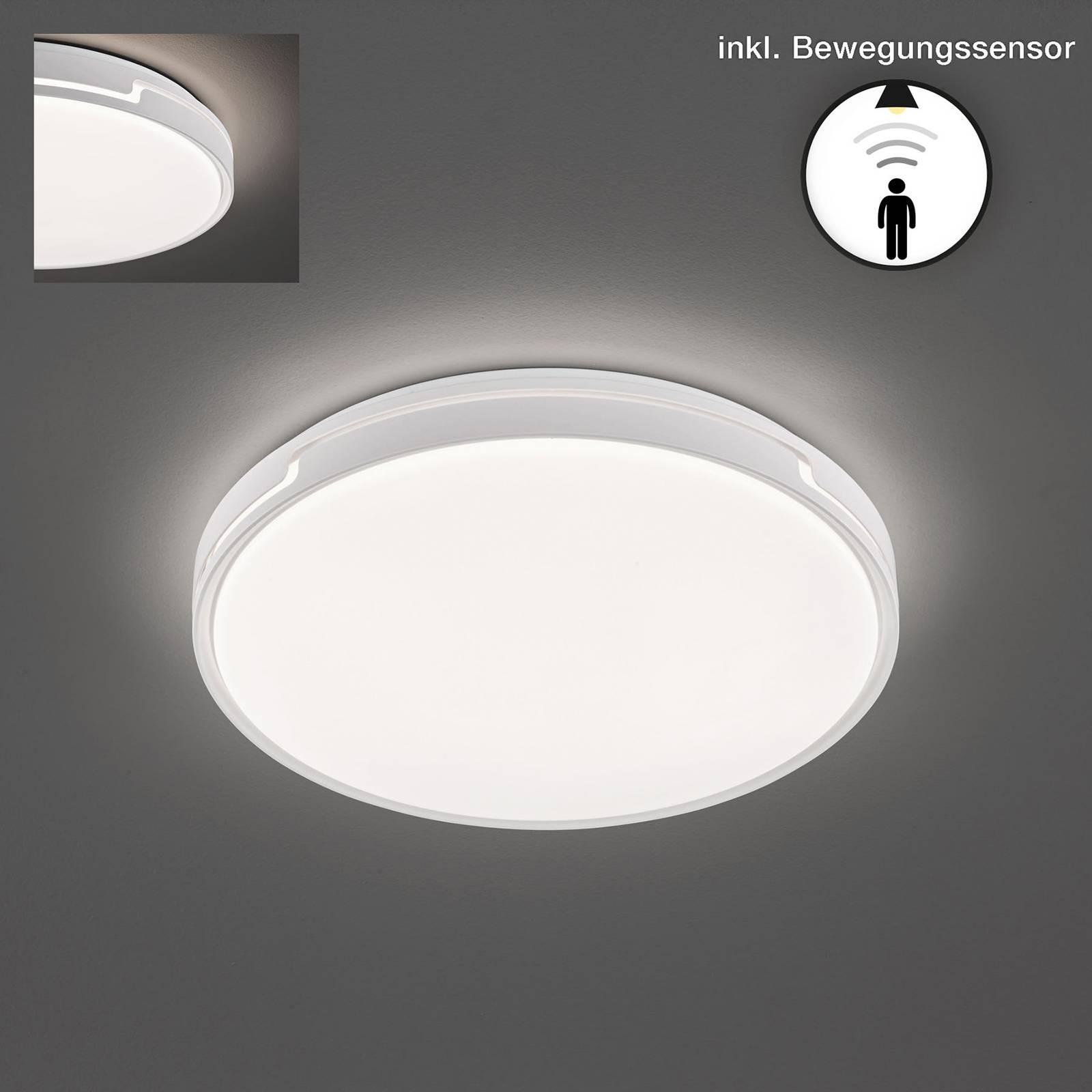 LED plafondlamp Tex BS met bewegingsmelder Ø 49 cm