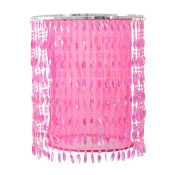 Lampada sospensione 6008419 con pietruzze, rosa