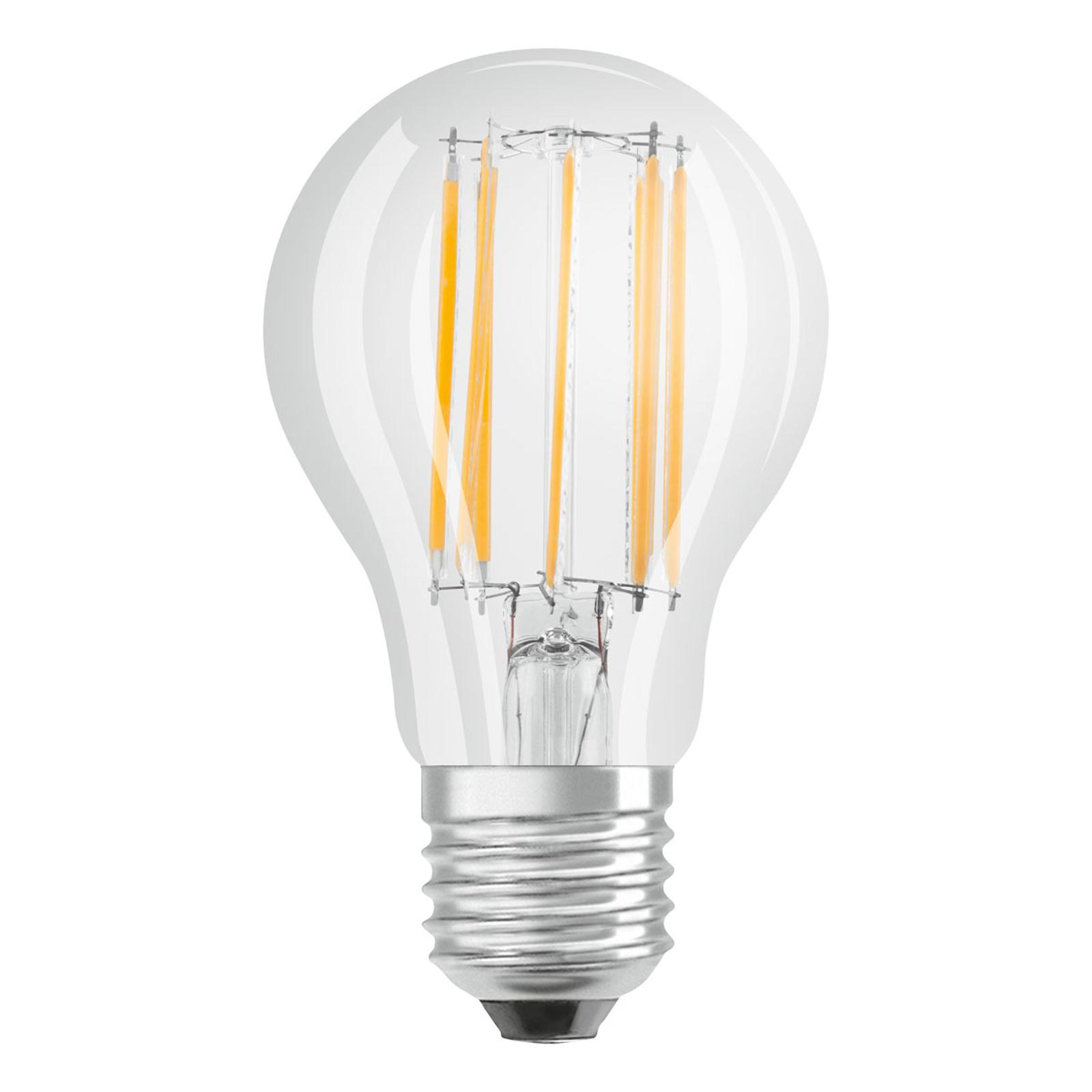OSRAM LED E27 10W filamenti 4.000K trasparente