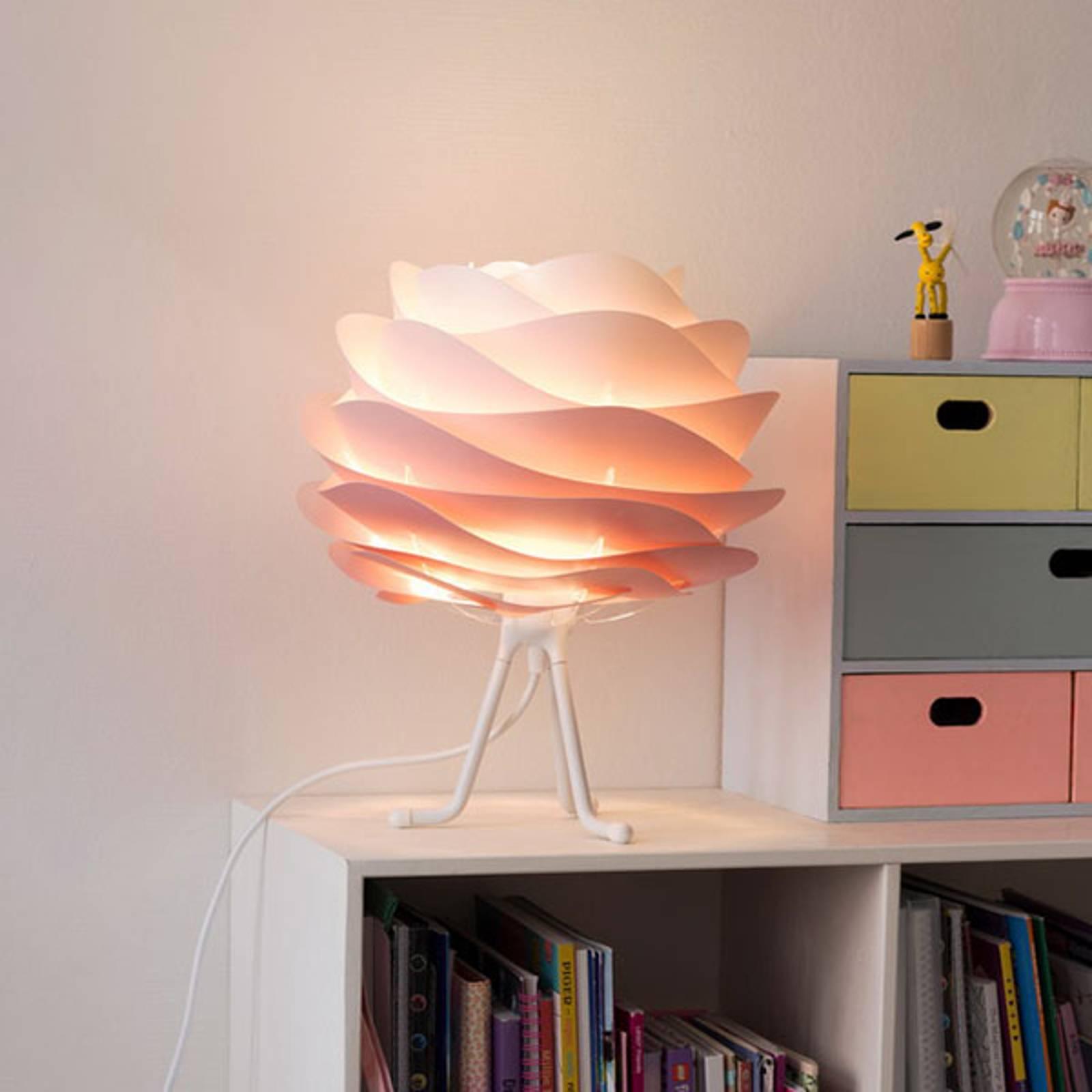 UMAGE Carmina Mini tafellamp roze/tripod base w
