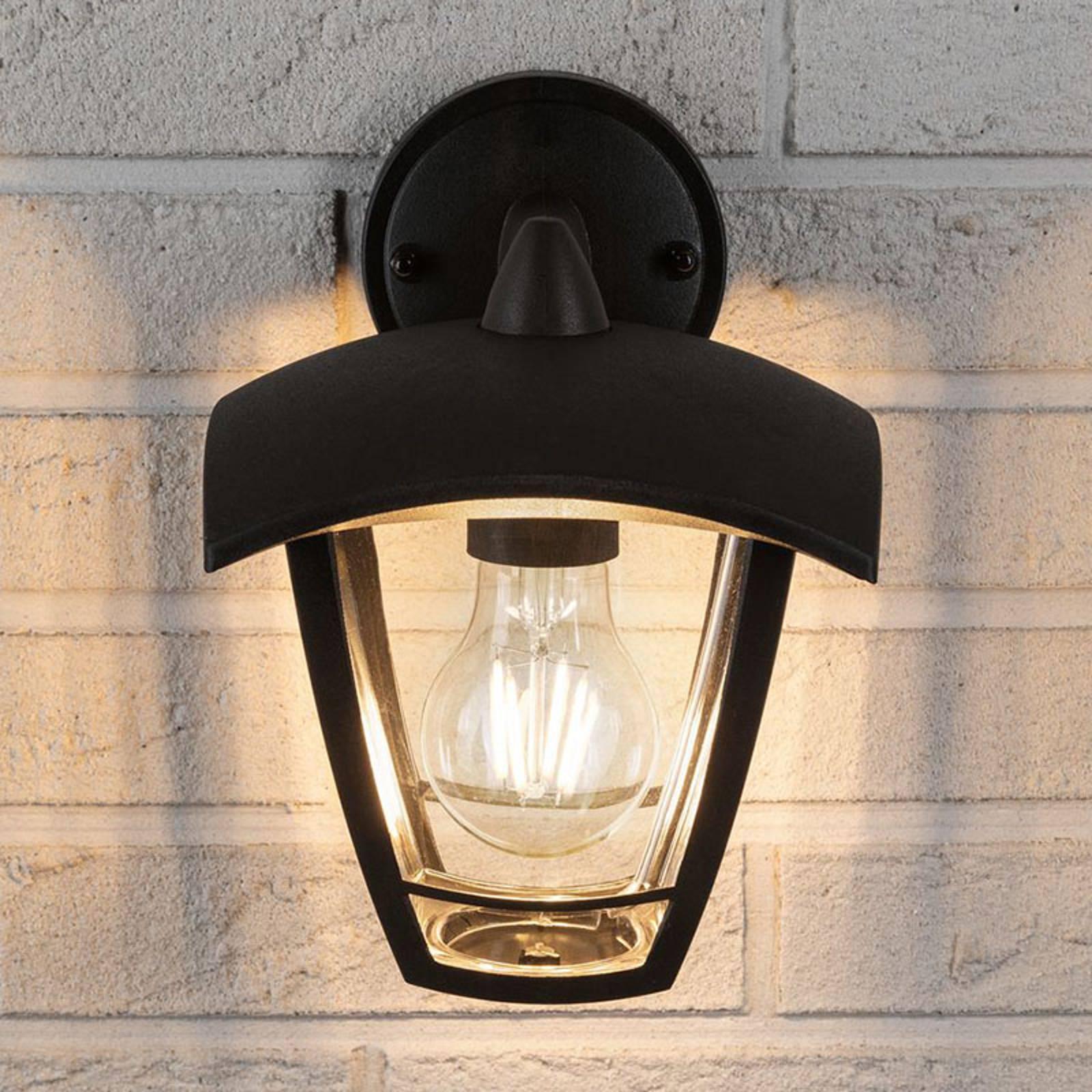 Paulmann Classic curved buitenwandlamp, onder