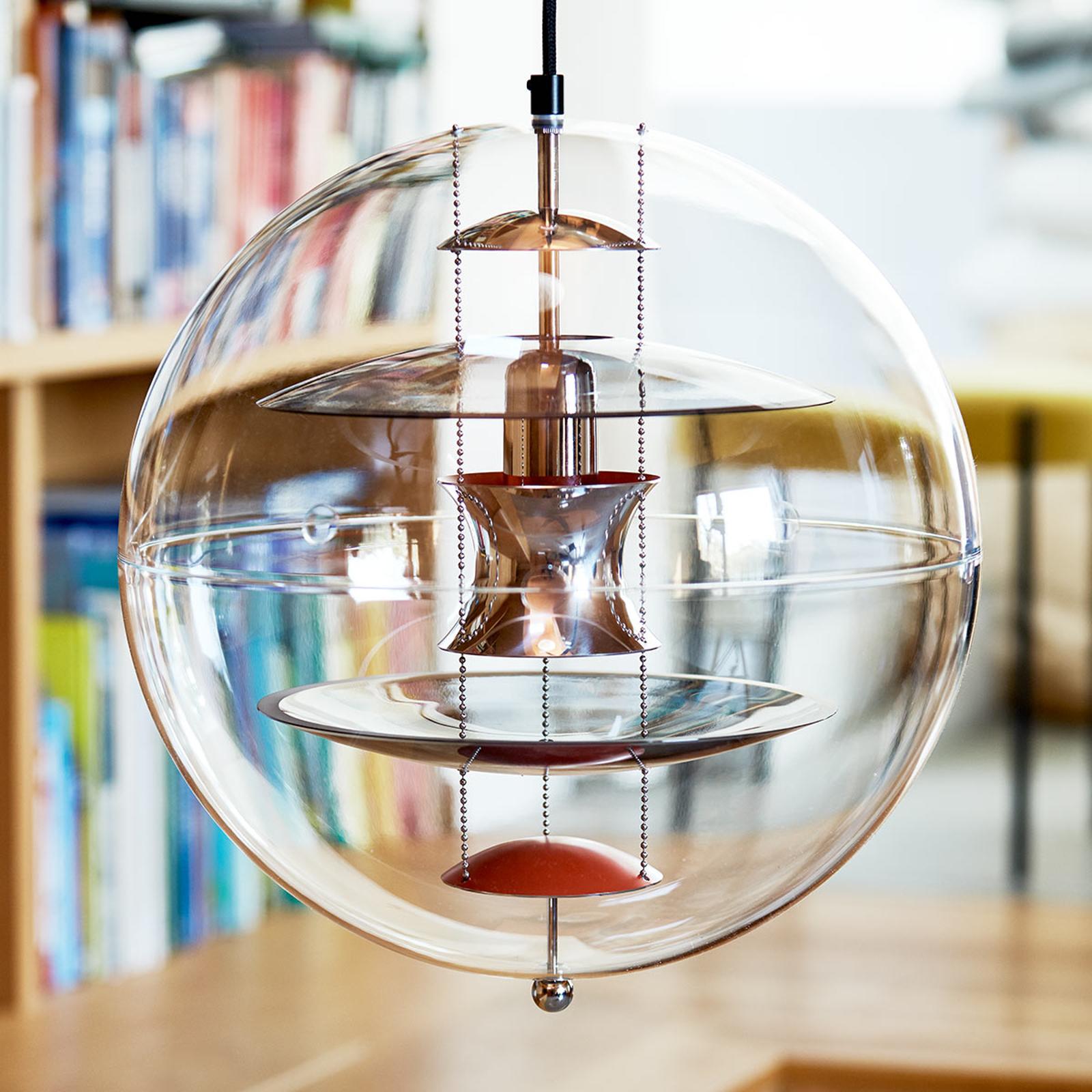VERPAN VP Globe Coloured Glass lampa wisząca