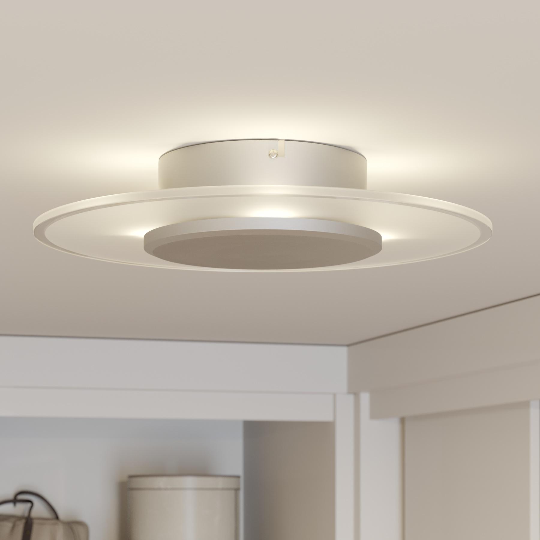 Perfect gevormde LED-plafondlamp Lena, dimbaar