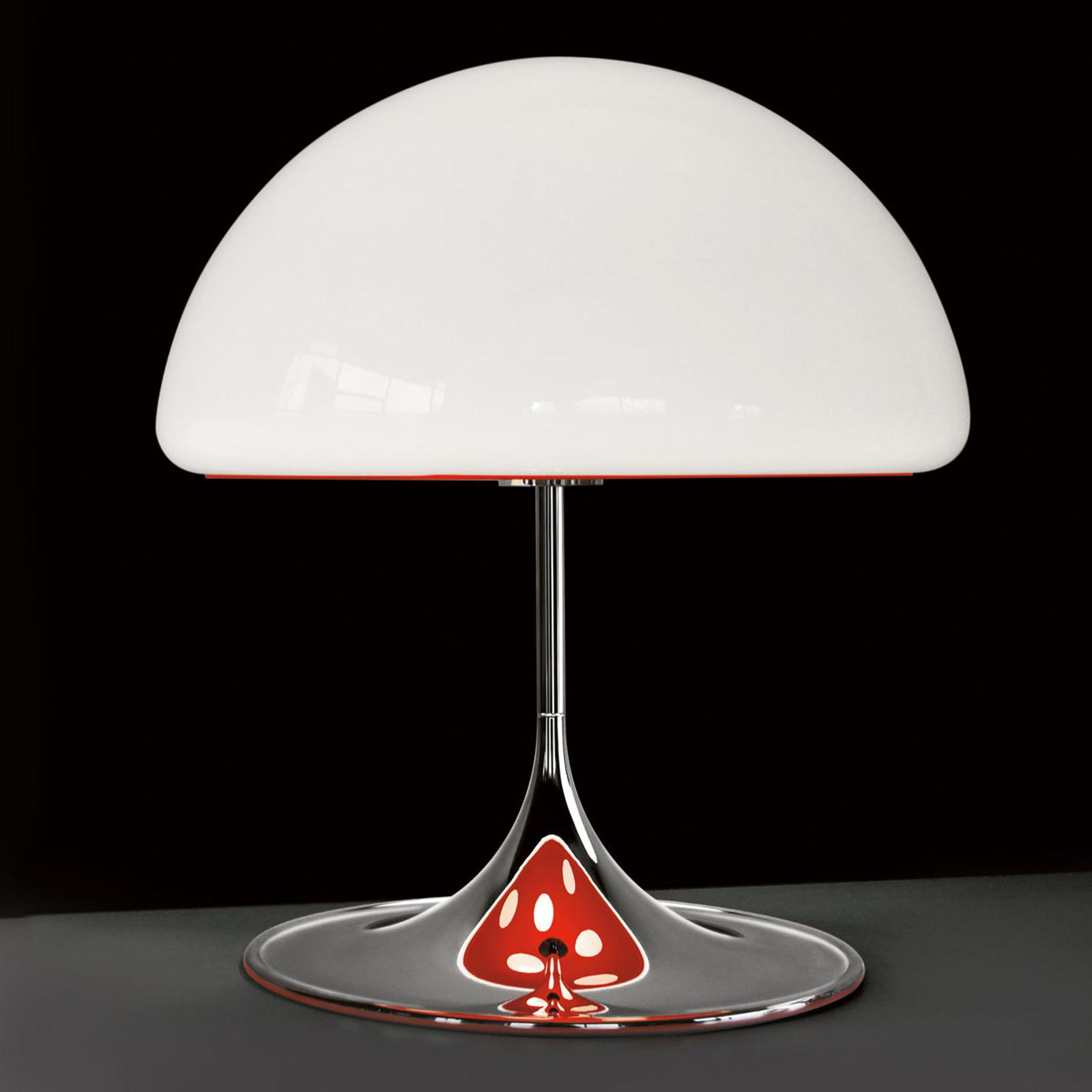Martinelli Luce Mico - Tischleuchte, 60 cm, rot