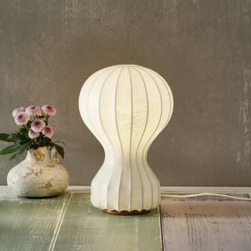 Lampe à poser design Gatto Piccolo en tissu