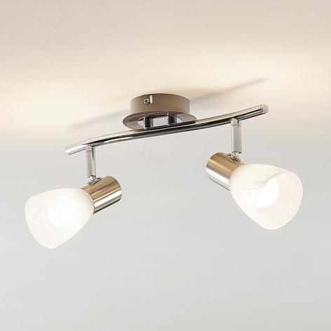 ELC Kamiran stropné LED svietidlo 2-plameňové