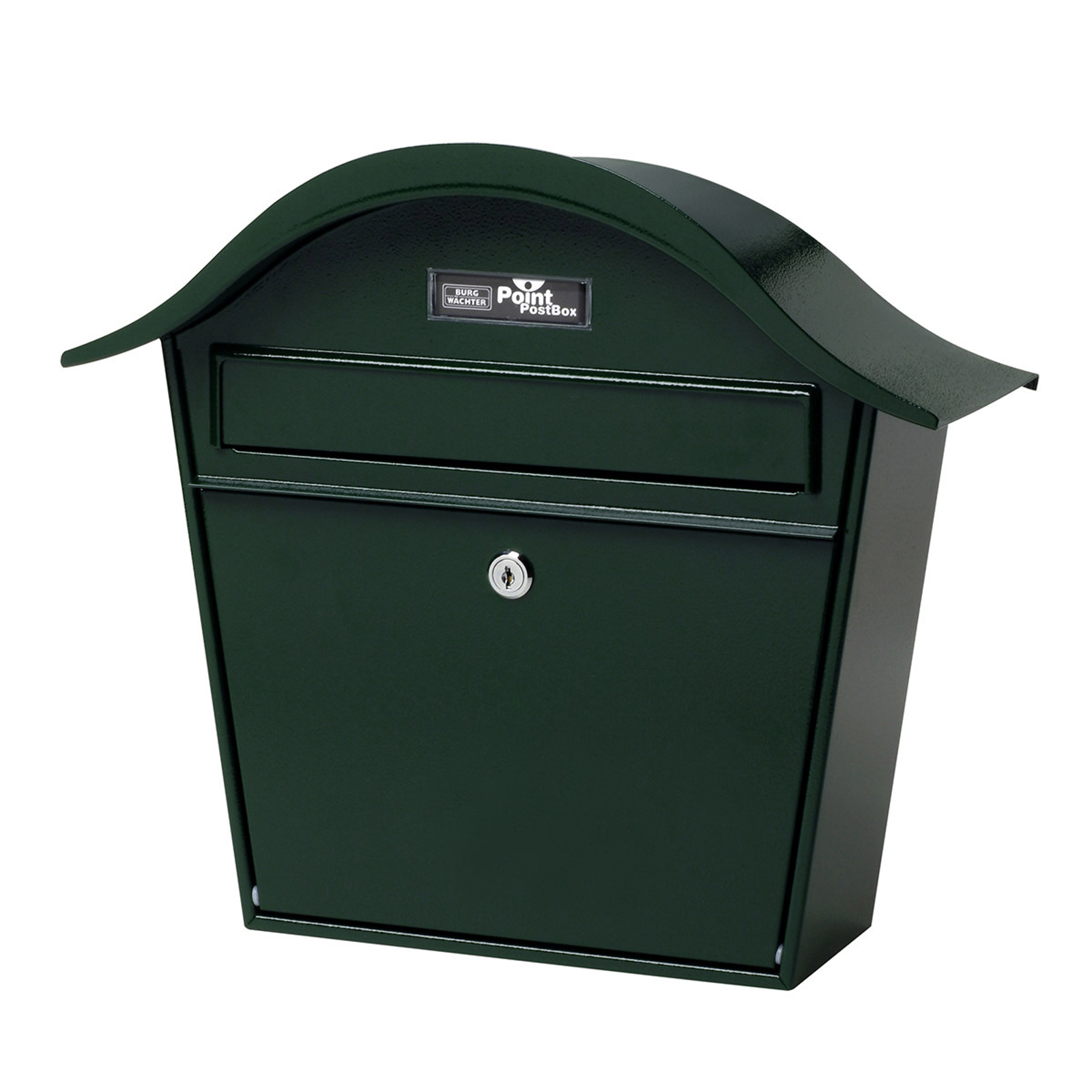 Zelená poštovní schránka Holiday 5842 z oceli