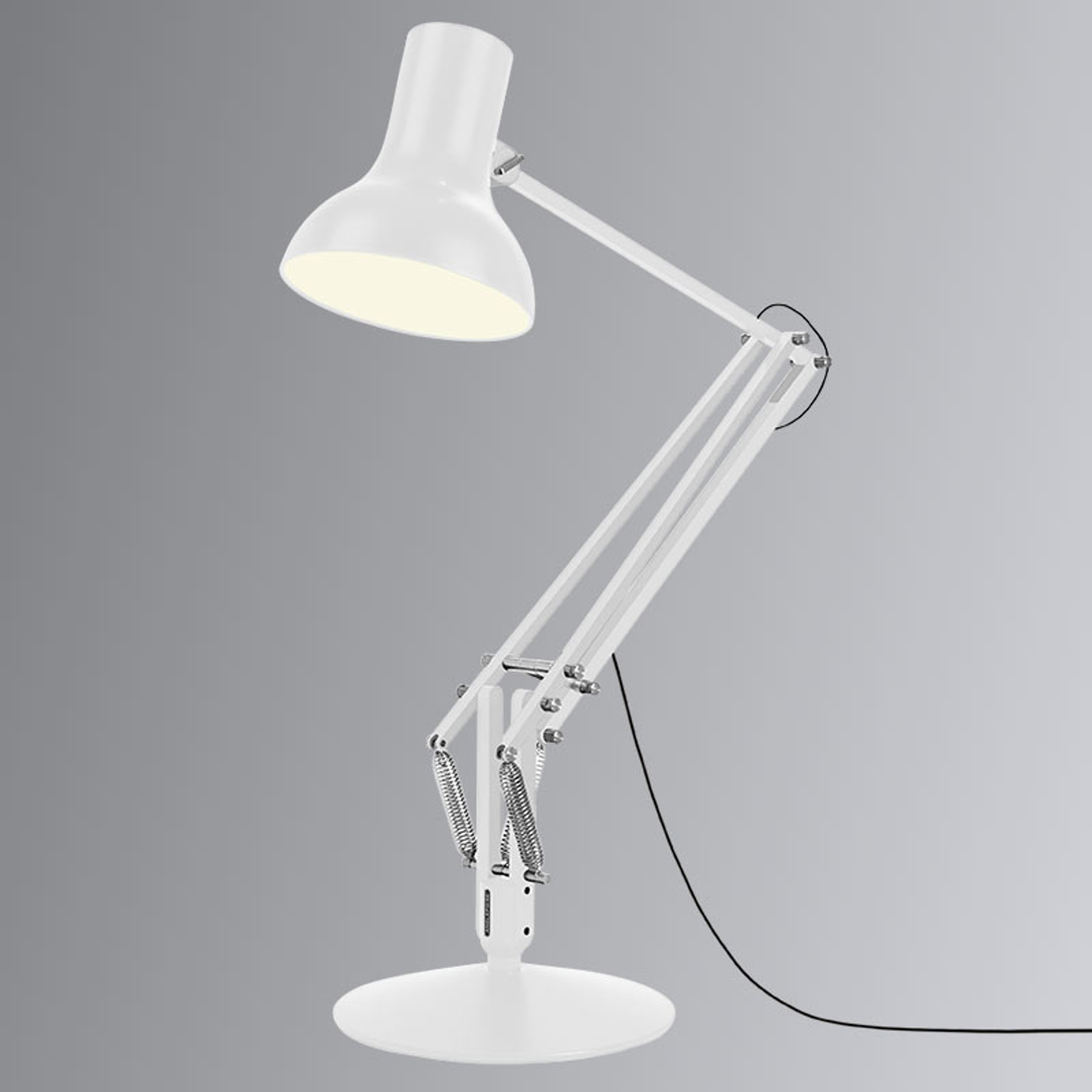 Anglepoise Type 75 Giant lampadaire blanc