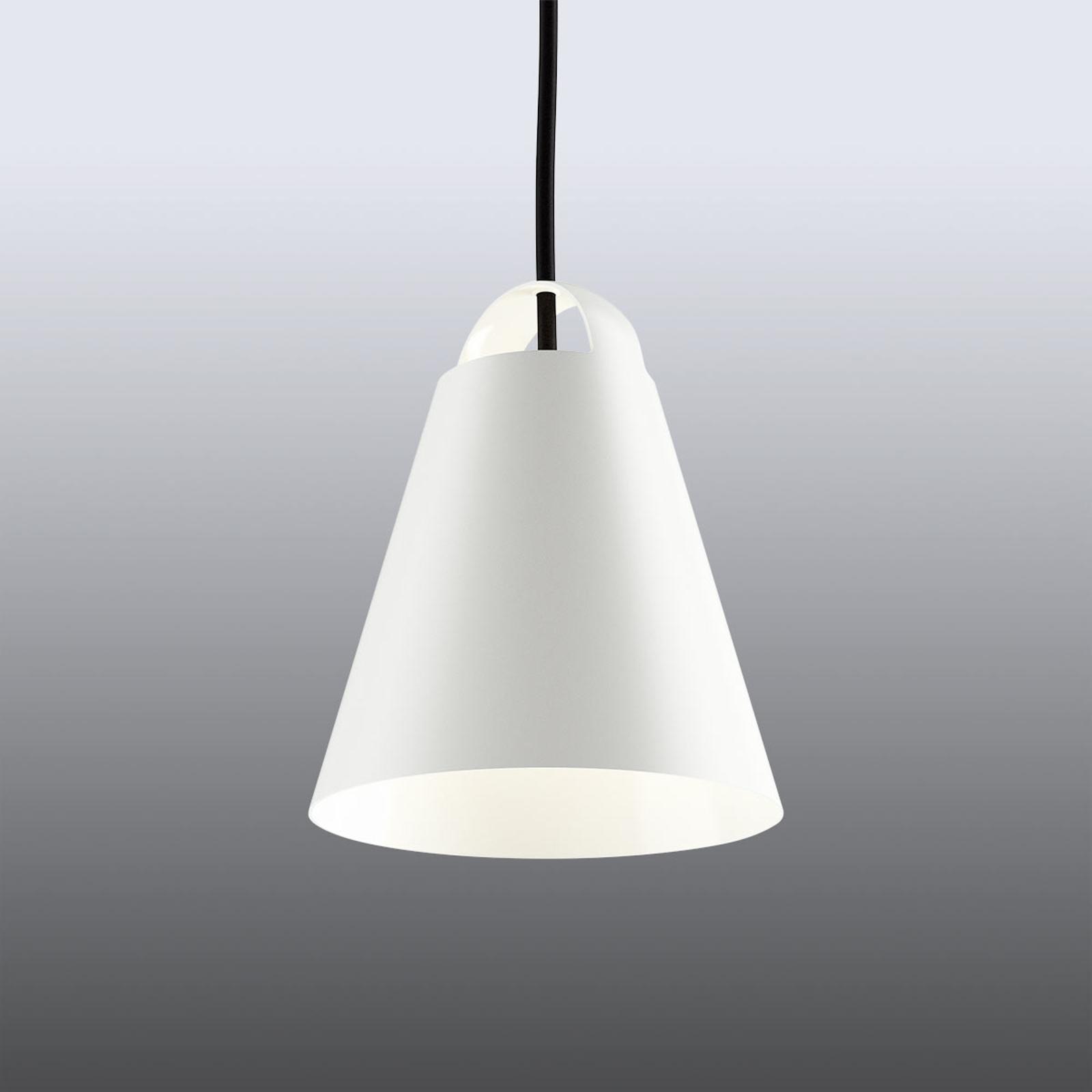 Witte design hanglamp Above 17,5 cm