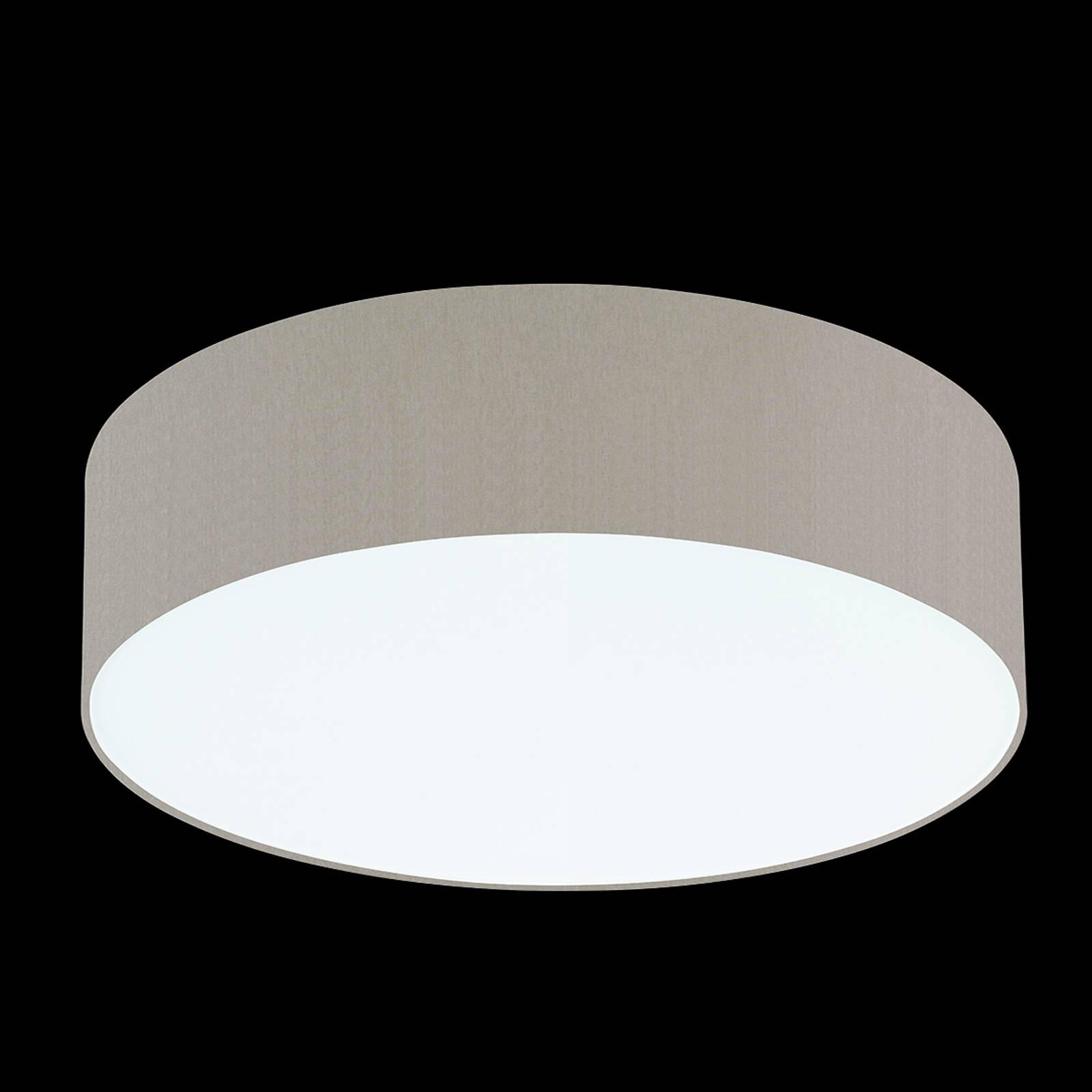 Melangebruine plafondlamp Mara, 60 cm