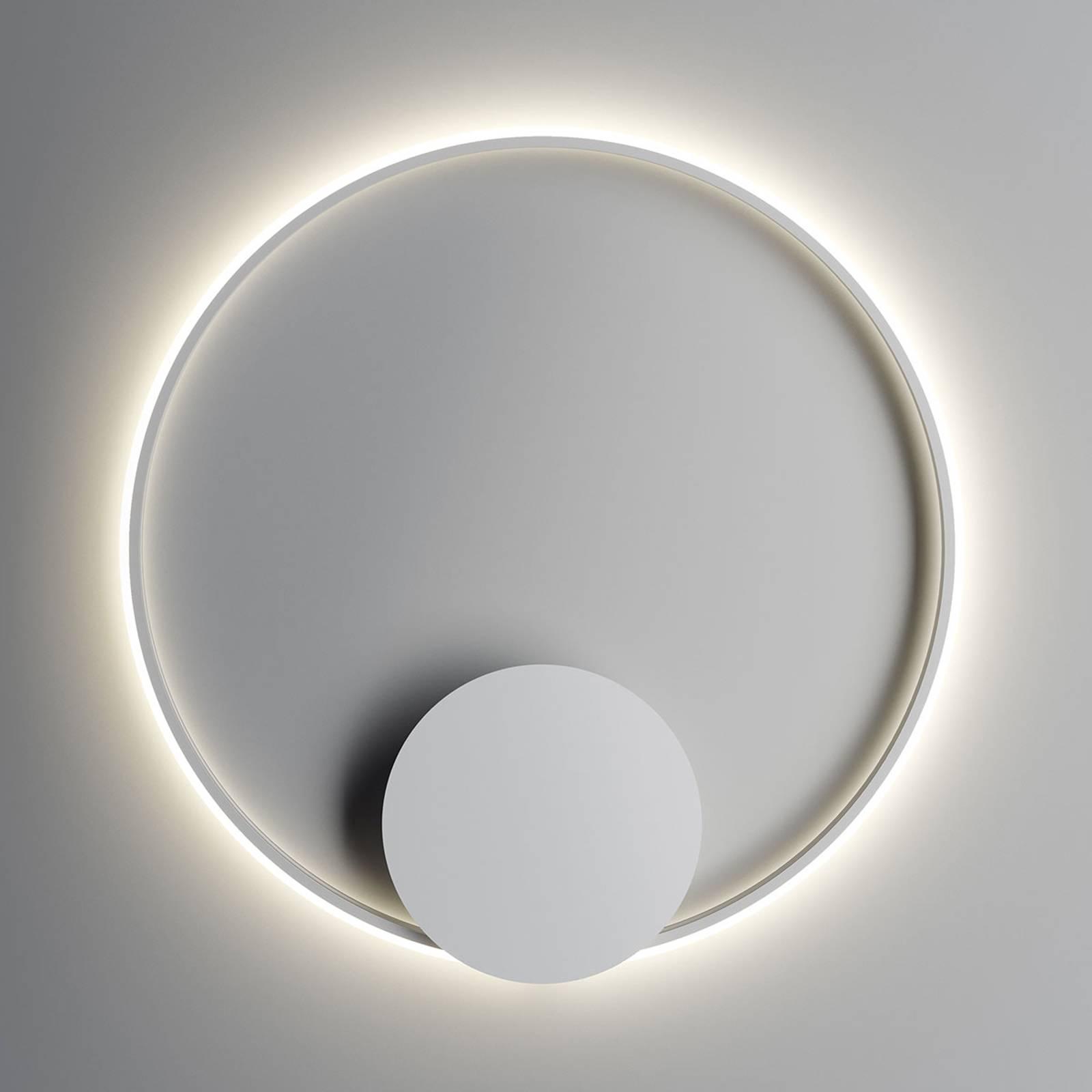 Fabbian Olympic LED-Wandleuchte Ø 80 cm weiß